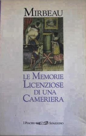 """Traduction italienne du """"Journal d'une femme de chambre"""", Sonzogno, 1986"""