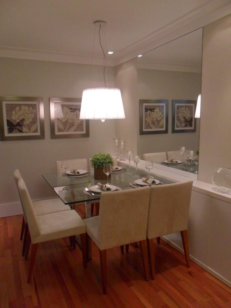 Sala De Jantar Pequena Casas Bahia ~ 20 Salas de jantar pequenas!!  Jeito de Casa  Blog de Decoração