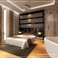 Desain kamar tidur unik