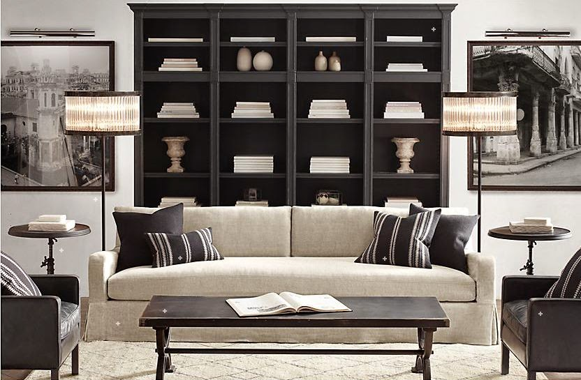 Restoration Hardware Living Room : The Manchester Dresser - Thirty Eighth Street