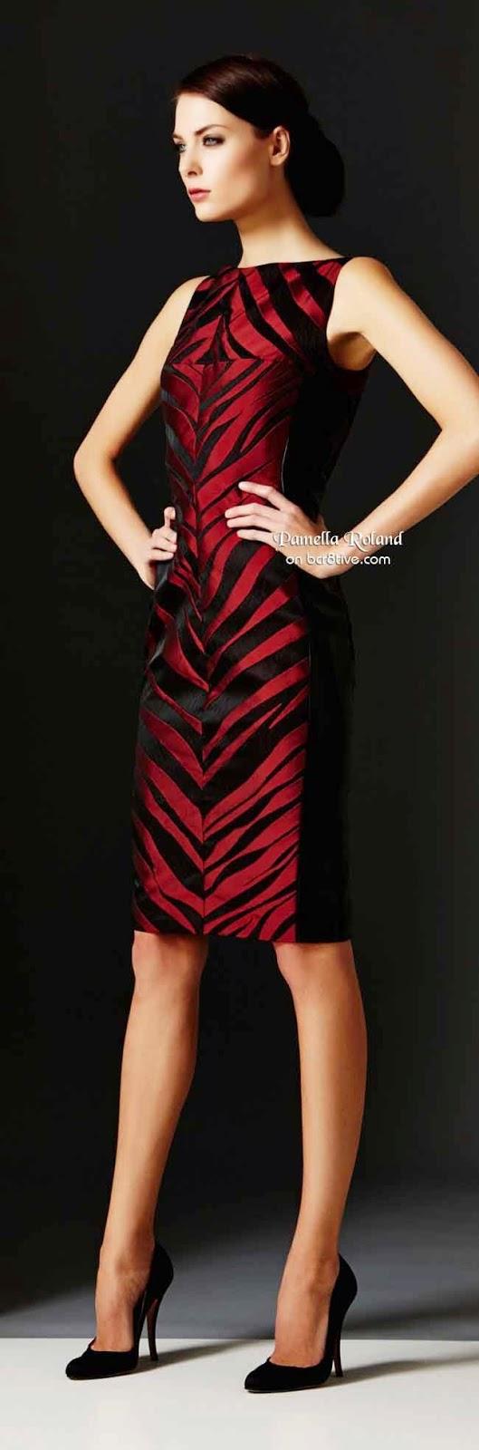Tendência da moda 2015 - padrão zebra vestidos