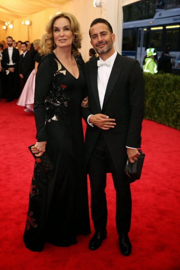 Marc Jacobs in Saint Laurent - METGALA 2014 #METGALA