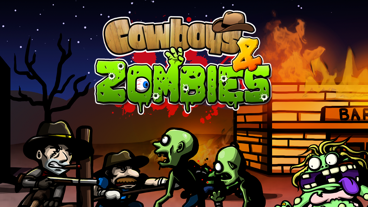 Cowboys and Zombies v1.0.8 Full Apk Mod [Money]