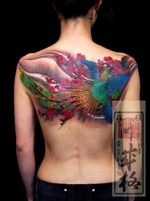 Imagens de Tattoos de Pavão
