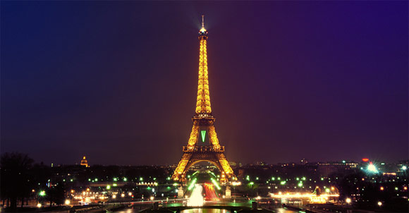 This is the City of Lights.