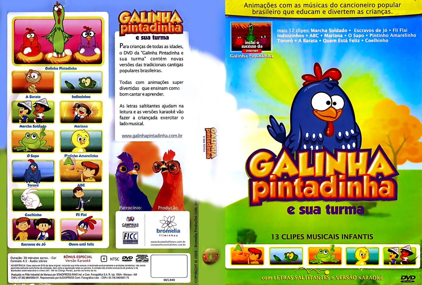 a galinha pintadinha 3 avi videos