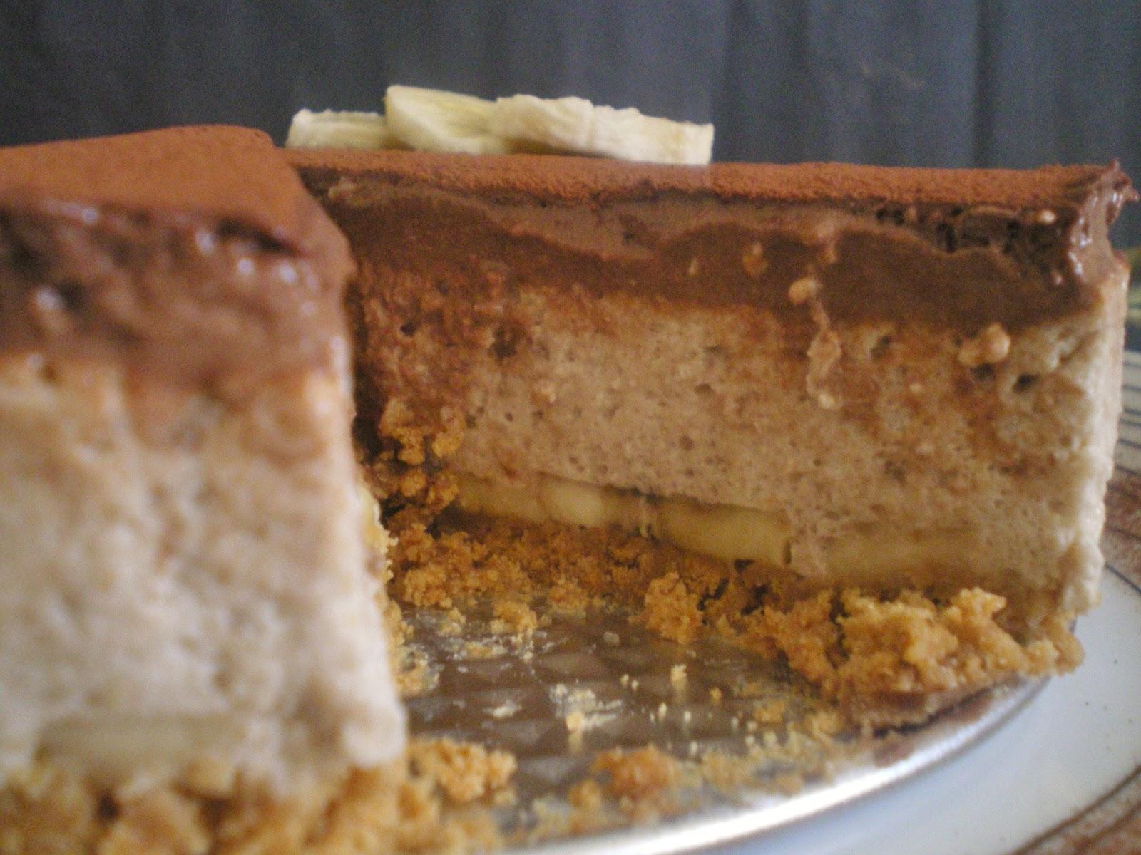 Gateau chocolat mousse de banane