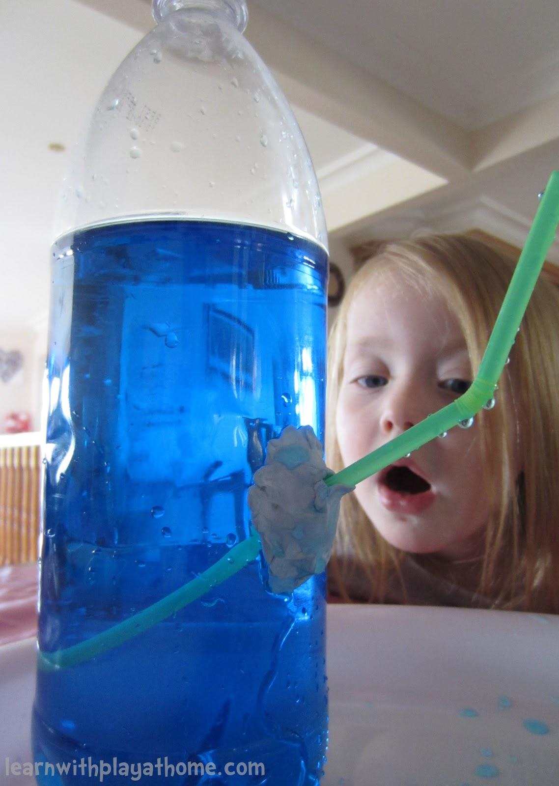 Drinking Water Making Fingers Bluie
