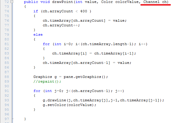 how to make mouse invisible in program java processing