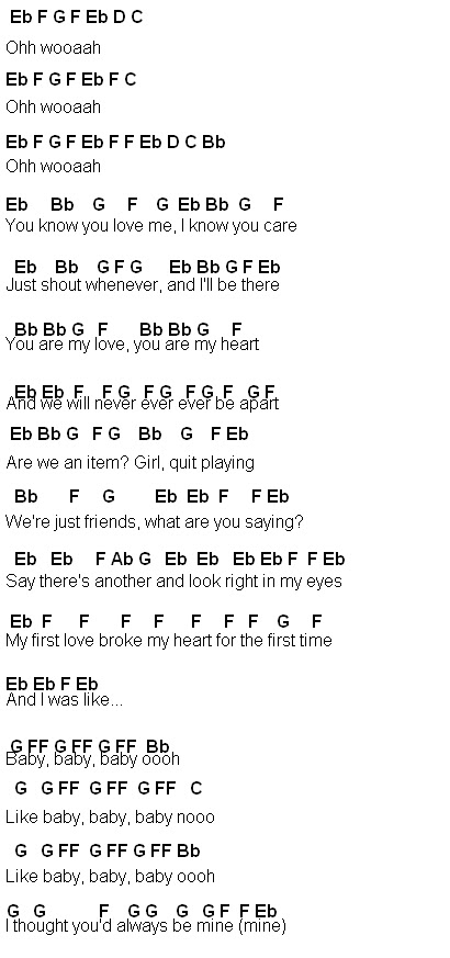 Flute Sheet Music: Baby