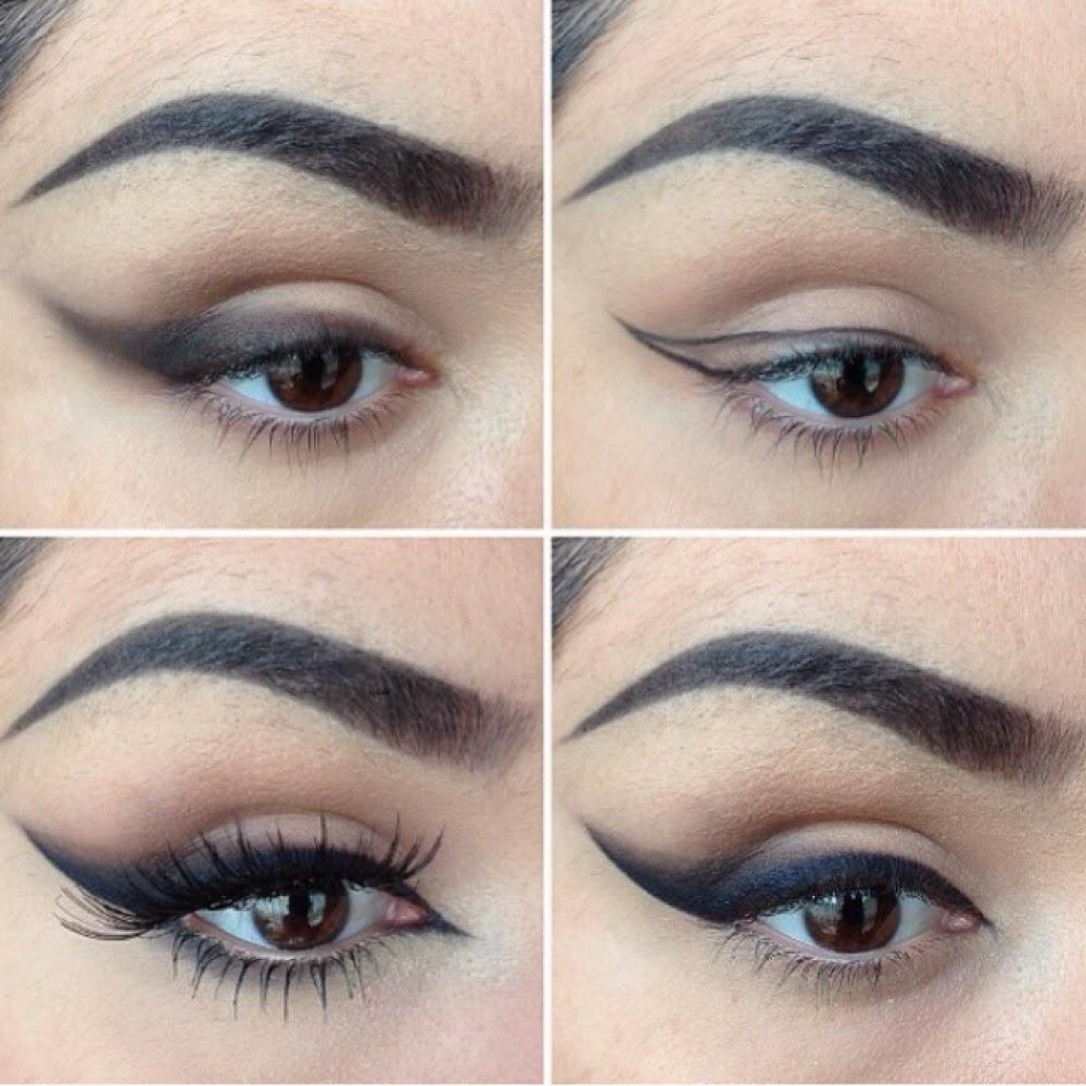 Winged Out Eye Liner Cat Eye Makeup Tutorial B G Fashion