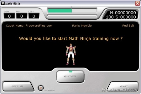Bermain Game Berhitung (Matematika) Ala Ninja