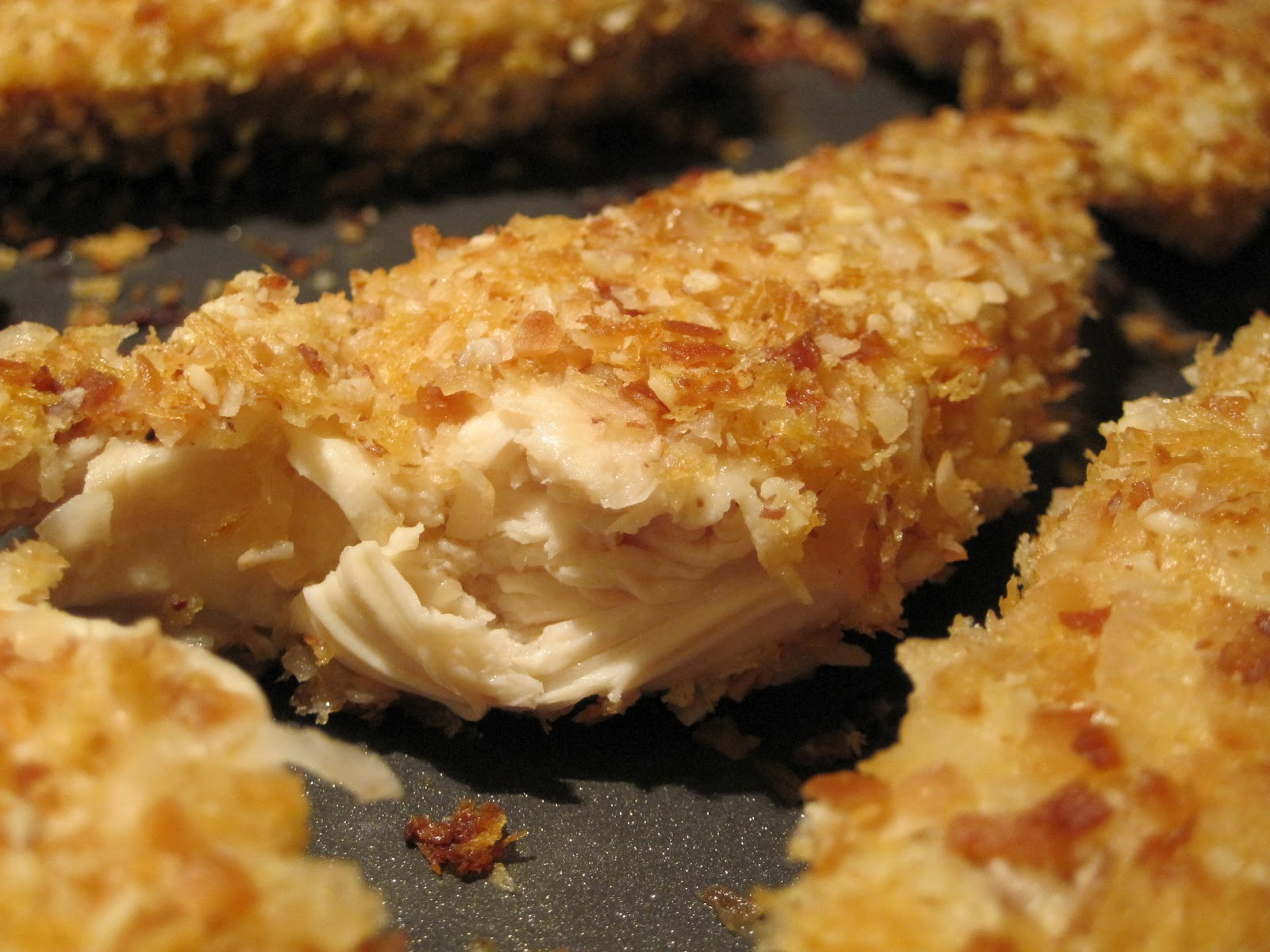 Baked Coconut Chicken Tenders | Food for the Finicky