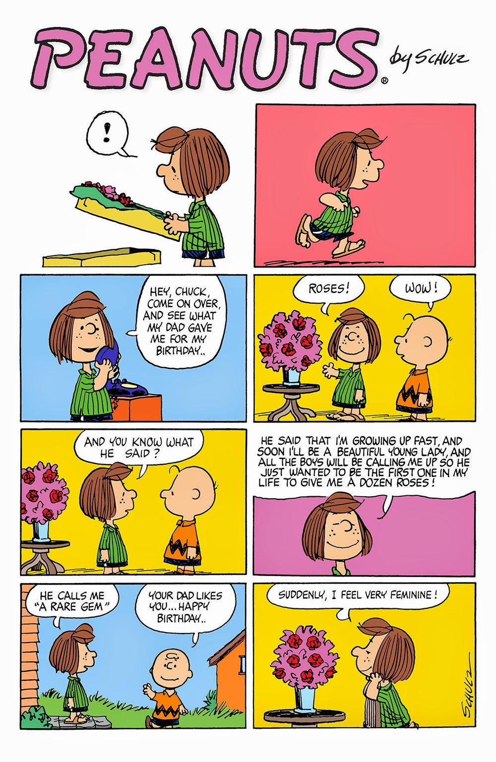 Free peanuts comic strip online