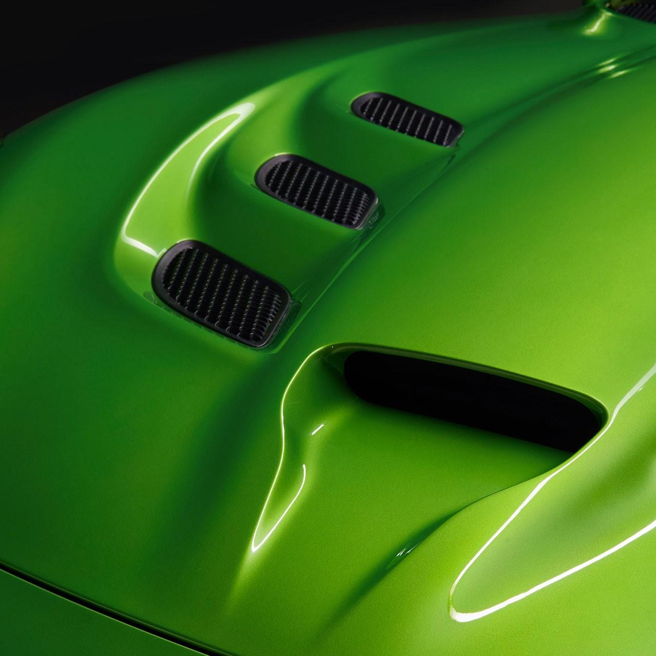 Stryker Green  2014 SRT Viper hood