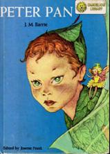 Couverture d'une édition de Peter Pan