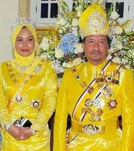 Sultan dan Sultanah Terengganu Darul Iman.