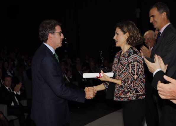 Spanish Royals Delivered Accreditations For Honorary Ambassadors