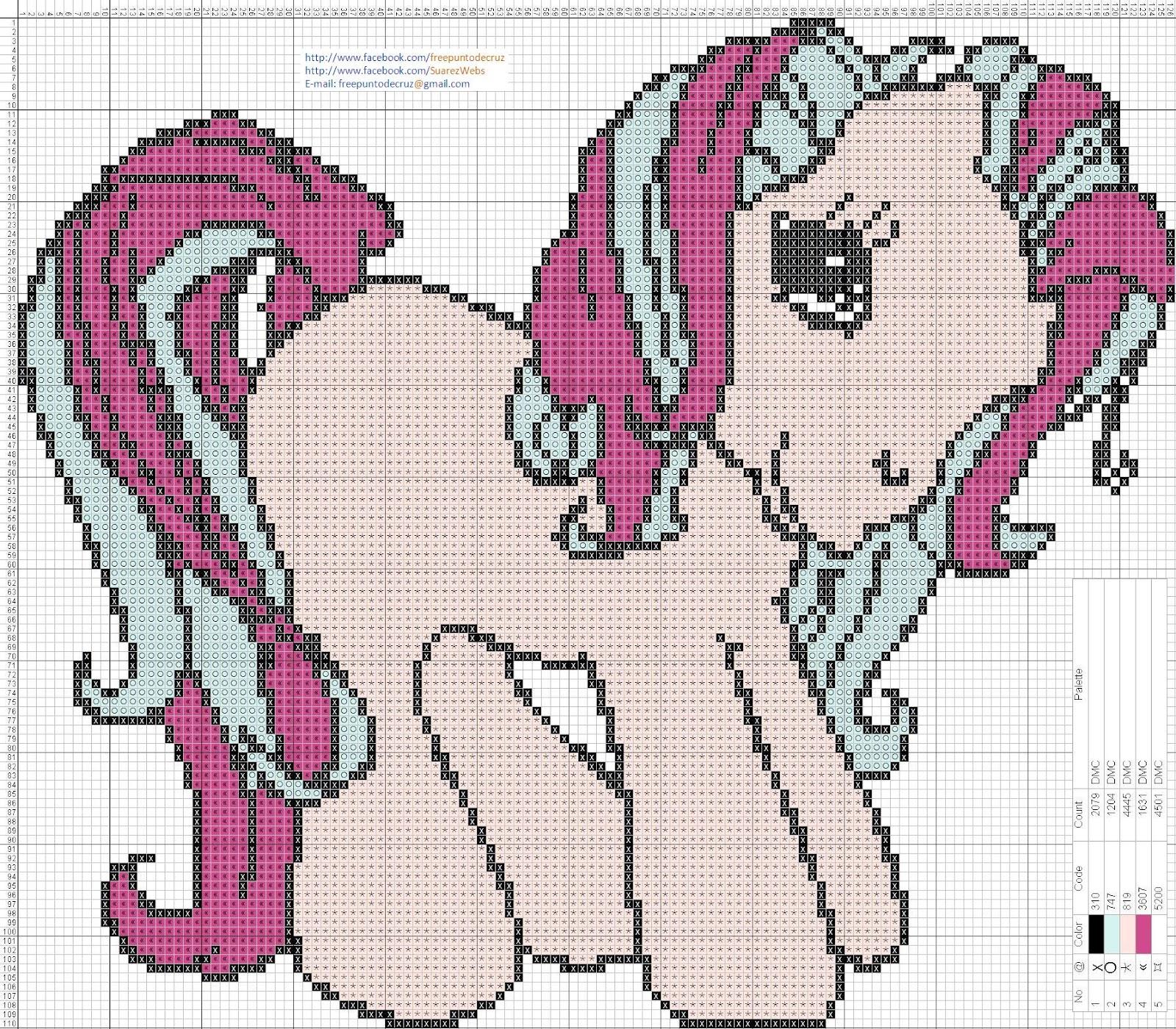 litle pony punto de cruz 23 x 20 centímetros 126 x 110 puntos 4 ...