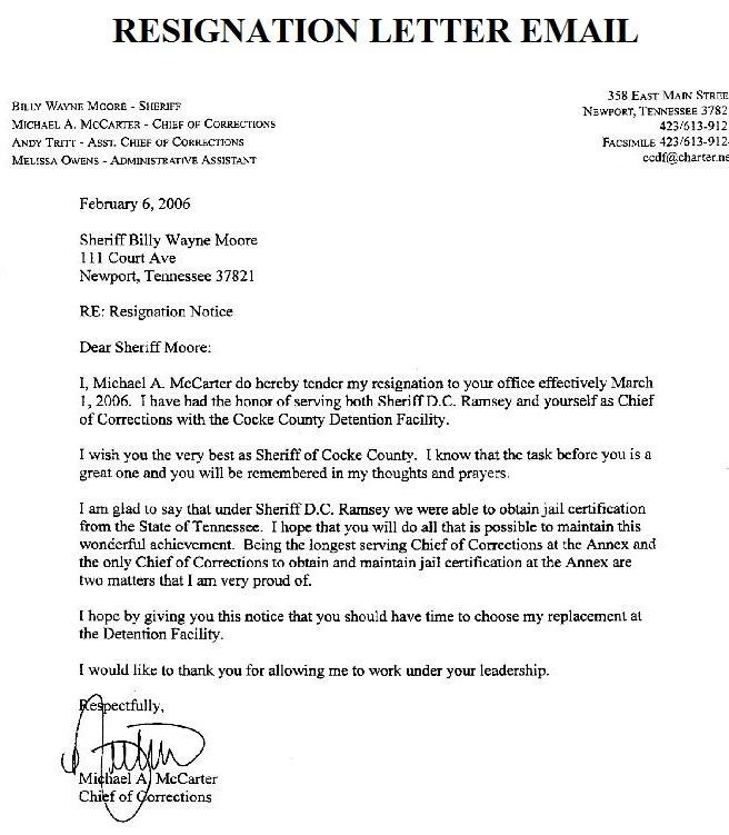 ... letter email format 247 x 320 8 kb jpeg resignation letter sample 1024