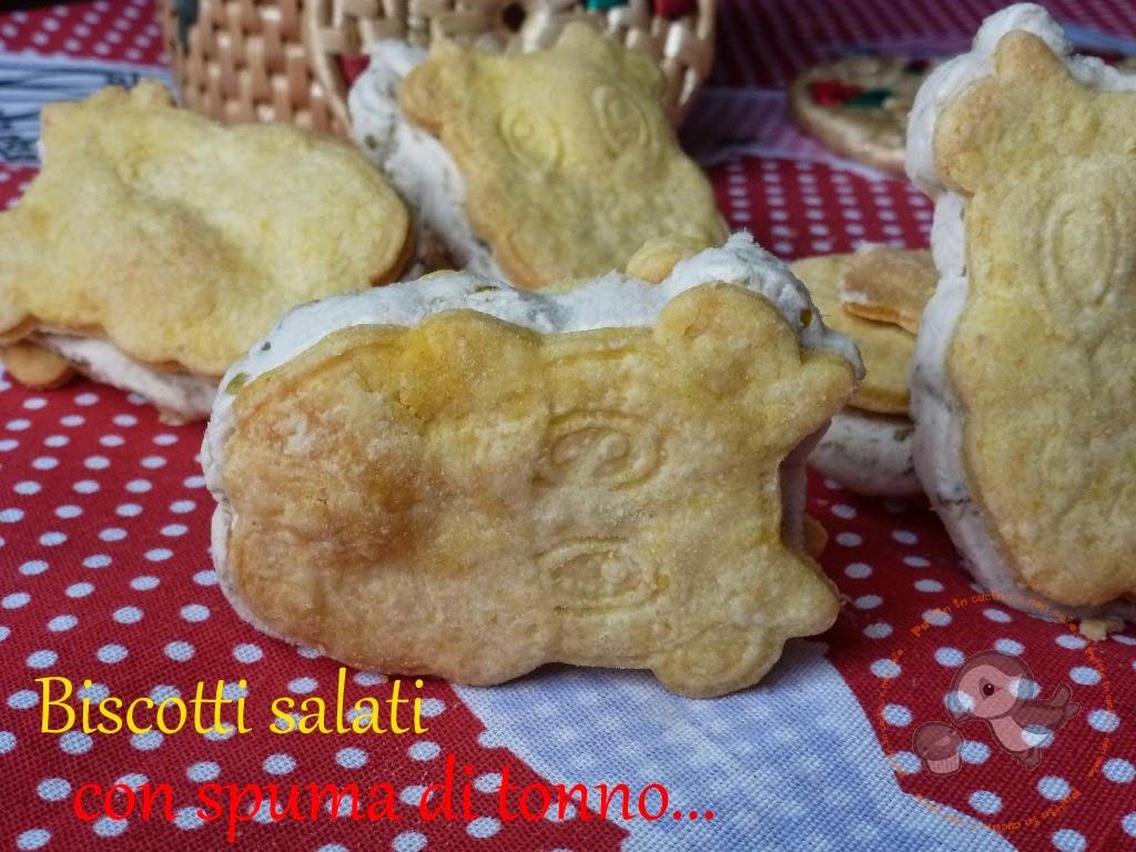 biscotti salati con spuma di tonno...la mia mucca petronilla ^_-
