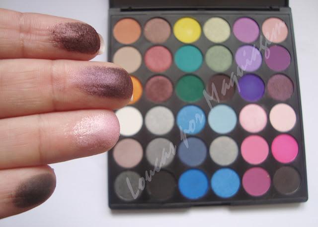 paleta de sombras coastal scents, maquiagem
