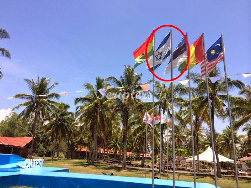 Punca Sebenar Bendera Israel Dikibarkan Di Tuaran, Sabah