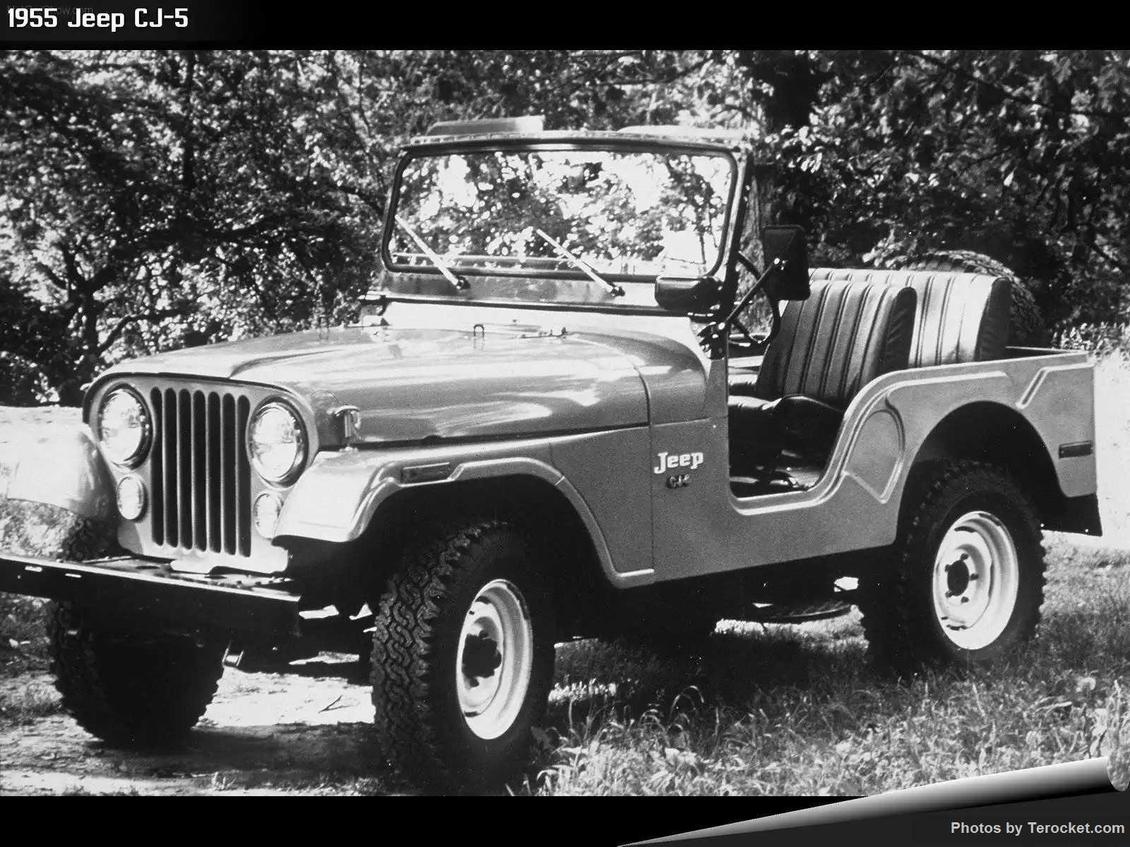Hình ảnh xe ô tô Jeep CJ-5 1955 & nội ngoại thất