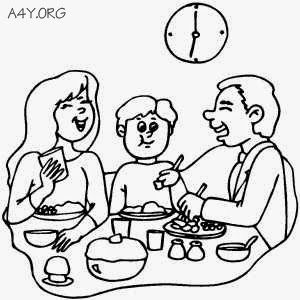 Nhớ bữa cơm gia đình
