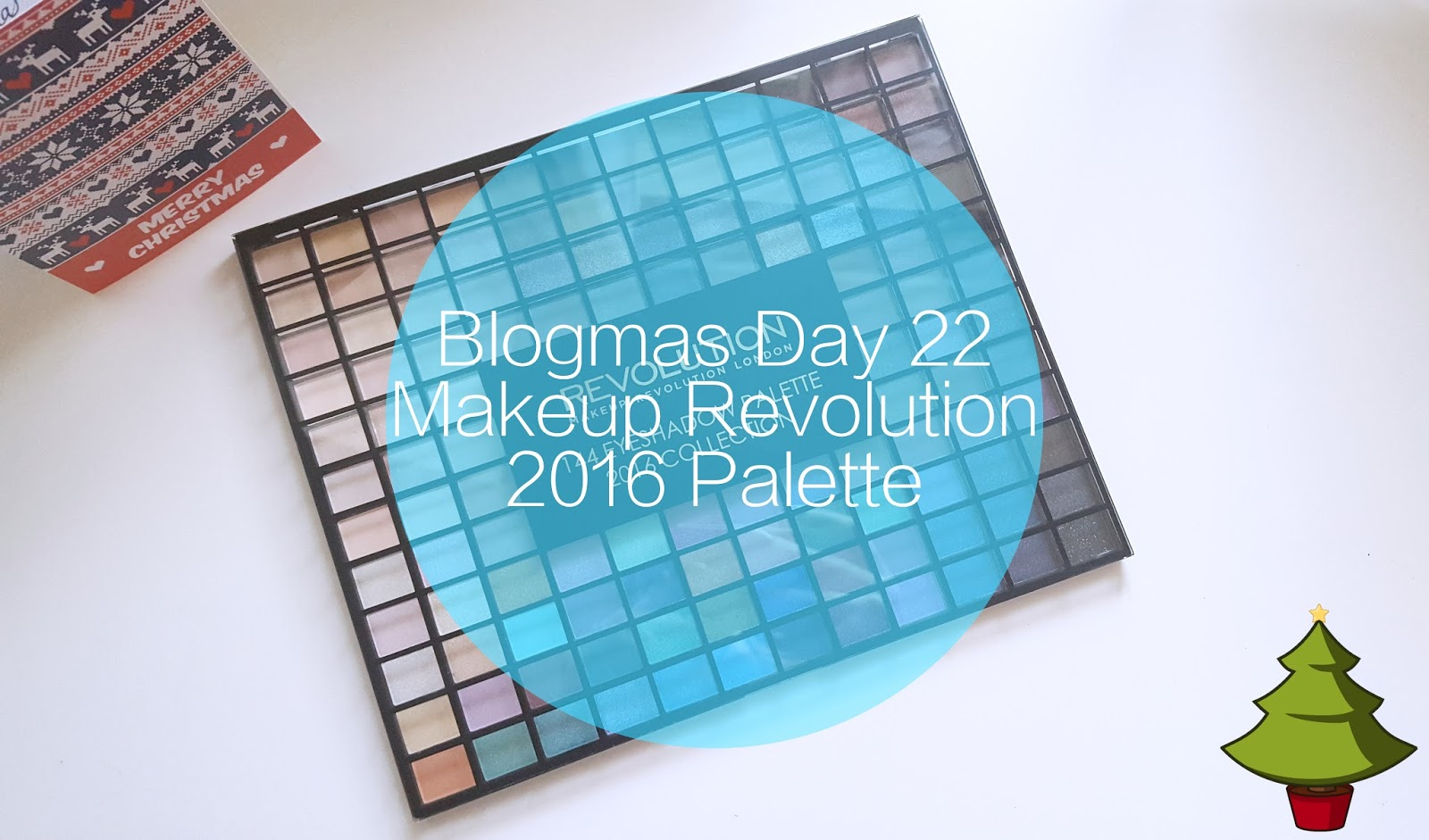 #Blogmas Day 22 | Makeup Revolution 144 Eyeshadow Palette