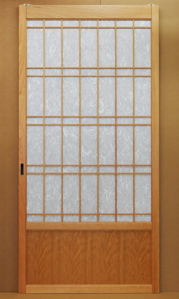Shoji door in Cherry for a massage studio.This is a magnificent door 44\  wide and 90\  tall the photo really does not do the scale justice.  sc 1 st  Shoji Designs Inc. & Shoji Designs Inc.: May 2015