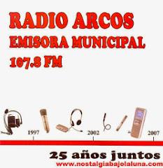 LIBRO DE RADIO ARCOS 25 AÑOS JUNTOS