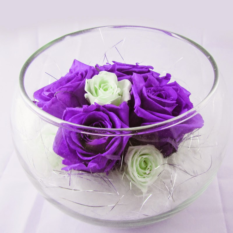 Hoa hồng bất tử, hoa hồng xanh