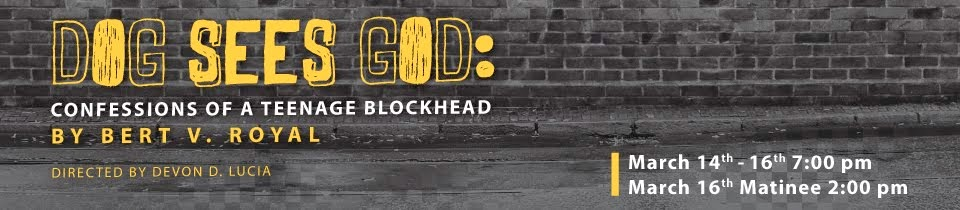 Dog Sees God: Confession of a Teenage Blockhead - An Orlando Play