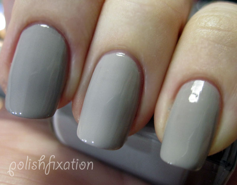 Vintage Gray is a Creme Polish