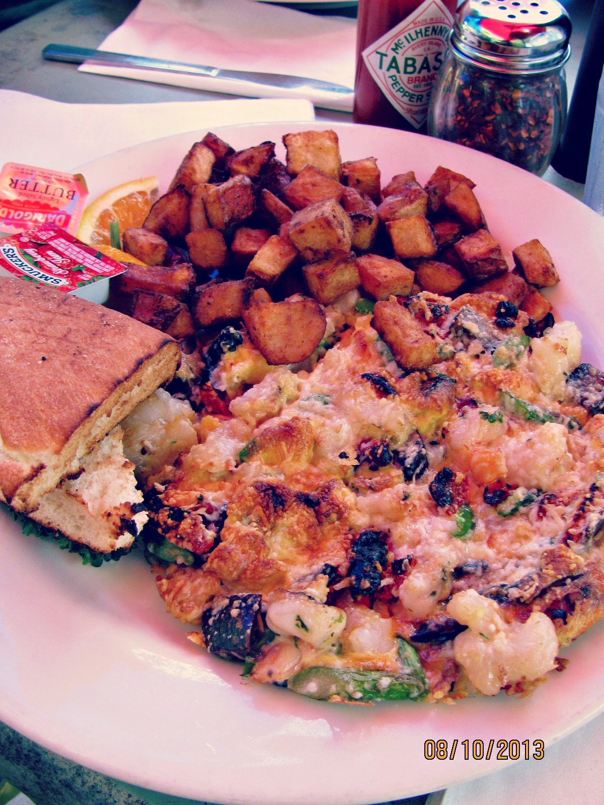 C&O Trattoria // My Lobster & Shrimp Frittata