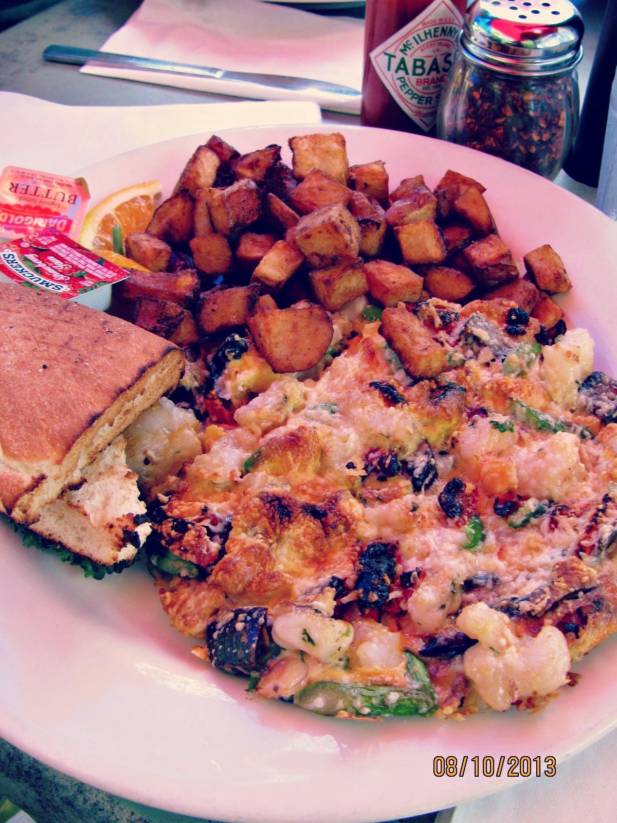 C&O Trattoria // My Lobster & Shrimp Frittata