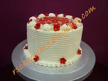 Kek Red Velvet ( 8 inci ) - RM 60.00