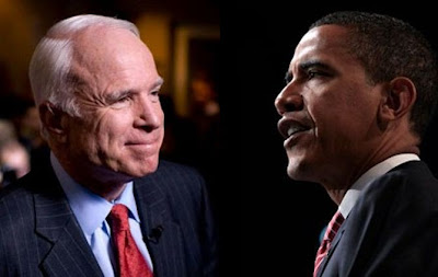John McCain vs Barack Obama 2008