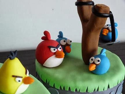 Tarta Angry Birds