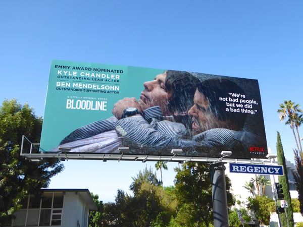 Bloodline Emmy 2015 nomination billboard Sunset Strip