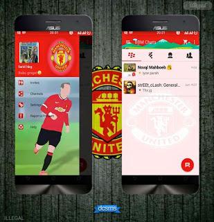 BBM Clonoe Mod Manchester United Versi 2.10.0.31 Apk