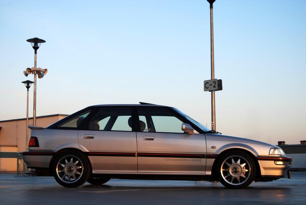 Honda Concerto, srebrna, ciekawe auta