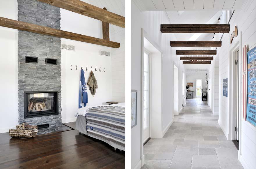 New england interpretation for New england style homes interiors