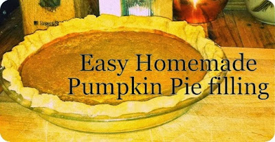 Sandy Toes Creations: Super Easy, Very Best Pumpkin Pie!