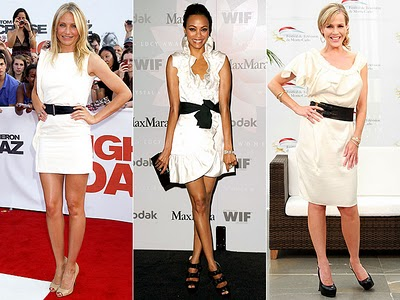 Site Blogspot  White Dress on White Dress And Black Belt   Will Never Fail To Bring The Chic In You