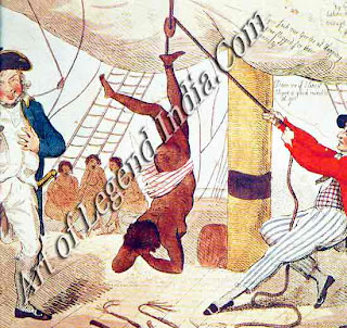 The Slave Traders Slave ships continued to carry Africans across the Atlantic long after the slave trade was abolished in England, in 1807. The slavers used fast maneuverable ships, and were not controlled until the age of steam.