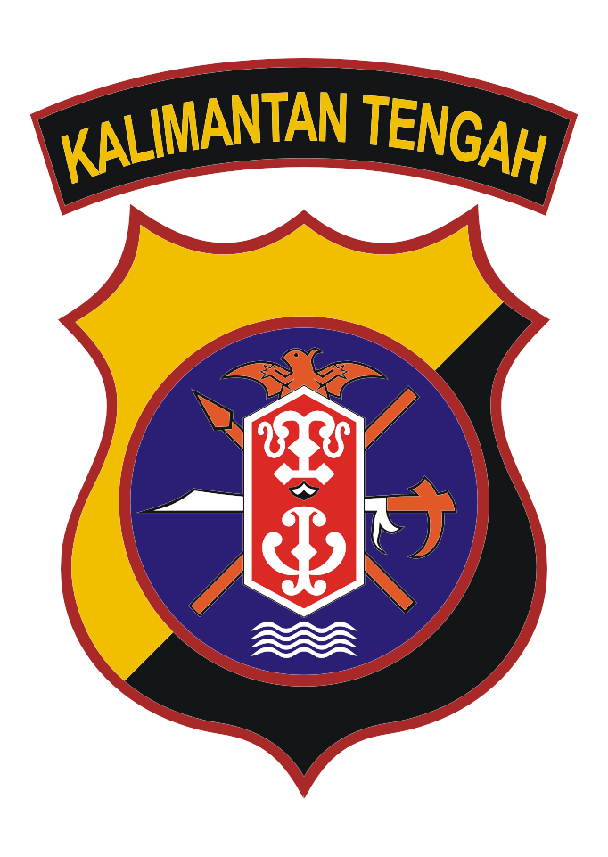 Download Logo Polda Kalimantan Tengah Vector