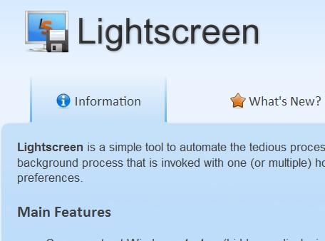 Download Lightscreen Gratis