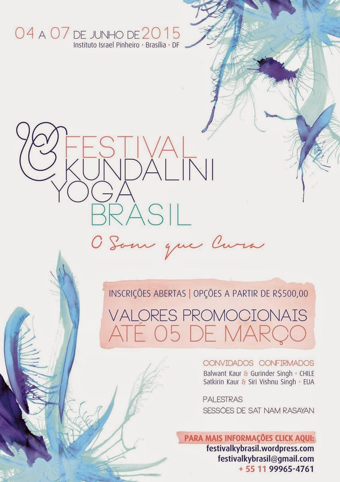 Festival de Kundalini Yoga -  O Som que Cura